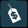 Pricing button logo